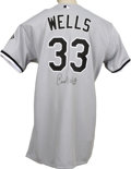 Baseball Collectibles:Uniforms, 2001 David Wells Game Worn and Signed Jersey. The historically-entrenched franchise known as the Chicago White Sox had a pl...