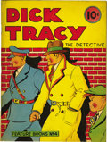 Platinum Age (1897-1937):Miscellaneous, Feature Books #4 Dick Tracy (David McKay, 1937) Condition: VG....