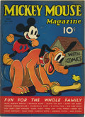 Platinum Age (1897-1937):Miscellaneous, Mickey Mouse Magazine V2#8 (K. K. Publications, Inc., 1937)Condition: FN/VF....