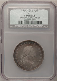 1795/1795 50C --Improperly Cleaned--NCS. Fine Details....(PCGS# 6055)