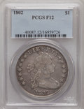 Early Dollars, 1802 $1 Fine 12 PCGS. PCGS Population (11/412). NGC Census: (0/0).(#40087)...