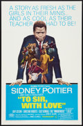 """Movie Posters:Drama, To Sir, with Love (Columbia, 1967). One Sheet (27"""" X 41""""). Drama.. ..."""
