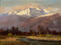 Texas:Early Texas Art - Regionalists, ROBERT WILLIAM WOOD (American, 1889-1979). Owens River. Oilon board. 9 x 12 inches (22.9 x 30.5 cm). Signed lower left:...