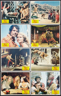 """Sinbad and the Eye of the Tiger (Columbia, 1977). Lobby Card Set of 8 (11"""" X 14""""). Fantasy. ... (Total: 8 Item..."""