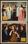 """Movie Posters:Comedy, Three Blind Mice (20th Century Fox, 1938). Lobby Cards (2) (11"""" X 14""""). Comedy.. ... (Total: 2 Items)"""