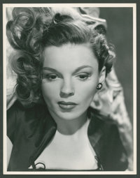 """Judy Garland by Virgil Apger (MGM, 1940s). Portrait (10"""" X 13""""). Comedy"""