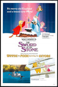 "Movie Posters:Animated, The Sword in the Stone/Winnie the Pooh and a Day for Eeyore ComboLot (Buena Vista, R-1983). One Sheets (2) (27"" X 41""). Ani...(Total: 2 Items)"