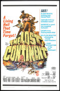 "Movie Posters:Science Fiction, The Lost Continent (20th Century Fox, 1968). One Sheet (27"" X 41"").Science Fiction.. ..."