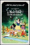 """Movie Posters:Animated, Snow White and the Seven Dwarfs (Buena Vista, R-1983). One Sheet(27"""" X 41"""") and Pressbook (Multiple Pages, 10.5"""" X 14""""). An...(Total: 2 Items)"""