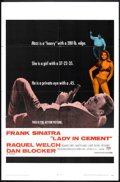 "Movie Posters:Crime, Lady in Cement (20th Century Fox, 1968). One Sheet (27"" X 41"").Crime.. ..."