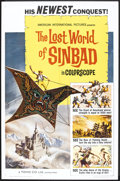 "Movie Posters:Fantasy, The Lost World of Sinbad (American International, 1965). One Sheet(27"" X 41""). Fantasy.. ..."