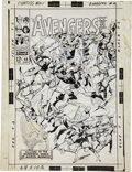 Original Comic Art:Covers, John Buscema and Vince Colletta Avengers #44 Cover OriginalArt (Marvel, 1967)....