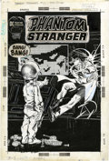 Original Comic Art:Covers, Neal Adams Phantom Stranger #13 Cover Original Art (DC, 1971)....