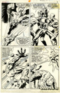 Original Comic Art:Panel Pages, Jim Steranko and John Tartaglione X-Men #51 page 6 OriginalArt (Marvel, 1968)....
