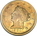 Territorial Gold, 1861 $2 1/2 Clark, Gruber & Co. Quarter Eagle VF20 NGC....