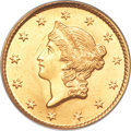 Gold Dollars, 1849 G$1 Open Wreath MS65 PCGS. CAC....