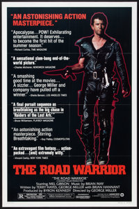 """The Road Warrior (Warner Brothers, 1982). One Sheet (27"""" X 41"""") Style B. Science Fiction"""