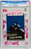 Bronze Age (1970-1979):Horror, Sinister House of Secret Love #2 (DC, 1972) CGC VF+ 8.5 Off-whiteto white pages....
