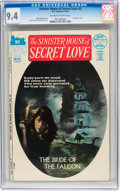 Bronze Age (1970-1979):Horror, Sinister House of Secret Love #3 (DC, 1972) CGC NM 9.4 Off-white towhite pages....