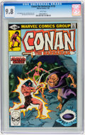 Modern Age (1980-Present):Superhero, Conan the Barbarian #118-121 CGC Group (Marvel, 1981) CGC NM/MT 9.8White pages.... (Total: 4 Comic Books)