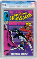 Modern Age (1980-Present):Superhero, The Amazing Spider-Man #288, 290, and 311 CGC Group (Marvel,1987-89) CGC NM/MT 9.8 White pages.... (Total: 3 Comic Books)