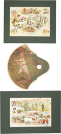 Baseball Collectibles:Others, 1880's-1950's Baseball Theme Collectibles (3). ...