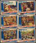 """Movie Posters:Adventure, North West Mounted Police (Paramount, 1940). Lobby Cards (6) (11"""" X14""""). Adventure.. ... (Total: 6 Items)"""