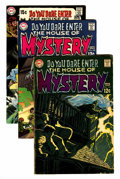 Bronze Age (1970-1979):Horror, House of Mystery/House of Secrets Group (DC, 1969-77) Condition:Average FN.... (Total: 9 Comic Books)
