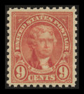 Stamps, 9c Rose (590),...