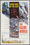 "Movie Posters:Documentary, The Silent World (Columbia, 1956). One Sheet (27"" X 41""). Documentary.. ..."