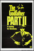 """Movie Posters:Crime, The Godfather Part II (Paramount, 1974). One Sheet (27"""" X 41"""")Advance. Crime.. ..."""