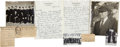 Baseball Collectibles:Others, 1951 Bill McGowen Hand Written, Signed Letter and Misc. MemorabiliaLot. ...