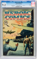 Golden Age (1938-1955):War, Heroic Comics #29 File Copy (Eastern Color, 1945) CGC NM- 9.2 Creamto off-white pages....