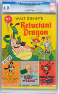 Golden Age (1938-1955):Cartoon Character, Four Color (Series One) #13 Reluctant Dragon (Dell, 1941) CGC FN6.0 Off-white to white pages....