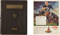 Football Collectibles:Publications, 1929 Red Grange Illinois Yearbook and Magazine Advertisement....