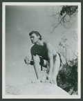 "Movie Posters:Adventure, Johnny Weissmuller in ""Tarzan and His Mate"" (MGM, R-1950s). Photos(8) (8"" X 10""). Adventure.. ... (Total: 8 Items)"