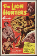 "Movie Posters:Adventure, The Lion Hunters (Monogram, 1951). One Sheet (27"" X 41"").Adventure.. ..."