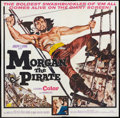 "Movie Posters:Adventure, Morgan the Pirate (MGM, 1961). Six Sheet (81"" X 81""). Adventure....."