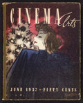 """Movie Posters:Miscellaneous, Cinema Arts (Cinema Magazine Inc., 1937). Numbered and Signed Magazine (11.25"""" x 14.25"""", 90 Pages). Miscellaneous.. ..."""