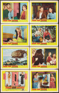 """Movie Posters:Bad Girl, Three Bad Sisters (United Artists, 1956). Lobby Card Set of 8 (11""""X 14""""). Bad Girl.. ... (Total: 8 Items)"""