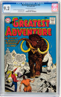 Silver Age (1956-1969):Science Fiction, My Greatest Adventure #44 (DC, 1960) CGC NM- 9.2 Off-white to whitepages....