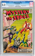 Silver Age (1956-1969):Science Fiction, Mystery in Space #54 (DC, 1959) CGC VF 8.0 Off-white pages....