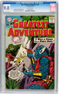 Silver Age (1956-1969):Science Fiction, My Greatest Adventure #42 (DC, 1960) CGC VF/NM 9.0 Off-whitepages....