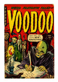 Golden Age (1938-1955):Horror, Voodoo #4 (Farrell, 1952) Condition: FN-....