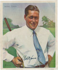 Golf Collectibles:Autographs, Bobby Jones Signed Print....