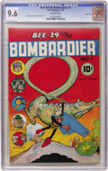 Golden Age (1938-1955):Funny Animal, Bee-29 The Bombardier #1 Carson City pedigree (Neal Publications,1945) CGC NM+ 9.6 Off-white pages. This funny animal one-s...