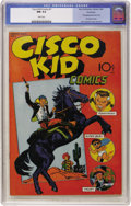 Golden Age (1938-1955):Western, Cisco Kid Comics #1 Vancouver pedigree (Baily Publication, 1944)CGC NM 9.4 White pages. ...