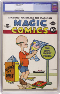 Magic Comics #1 (David McKay Publications, 1939) CGC VF/NM 9.0 Off-white to white pages