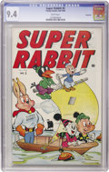 Golden Age (1938-1955):Funny Animal, Super Rabbit #5 Vancouver pedigree (Timely, 1945) CGC NM 9.4 Whitepages....