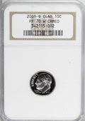 Proof Roosevelt Dimes: , 2001-S 10C Clad PR70 W Deep Cameo NGC. PCGS Population (55/0).Numismedia Wsl. Price for NGC/PCGS coin ...